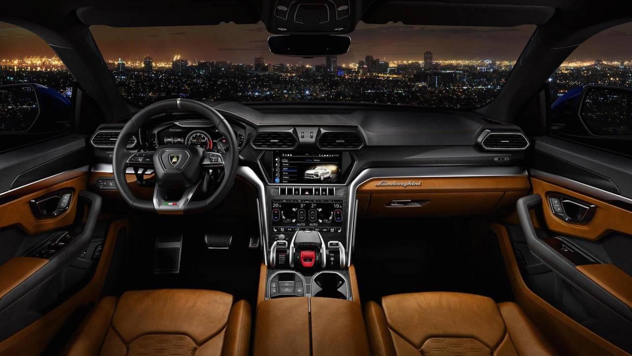 Intérieur : avantage Lamborghini