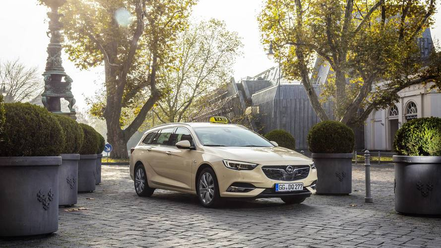L'Opel Insignia veut séduire les chauffeurs de taxi