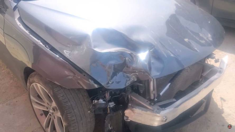 Watch This Crunched Lexus RX SUV Get A Second Chance At Life