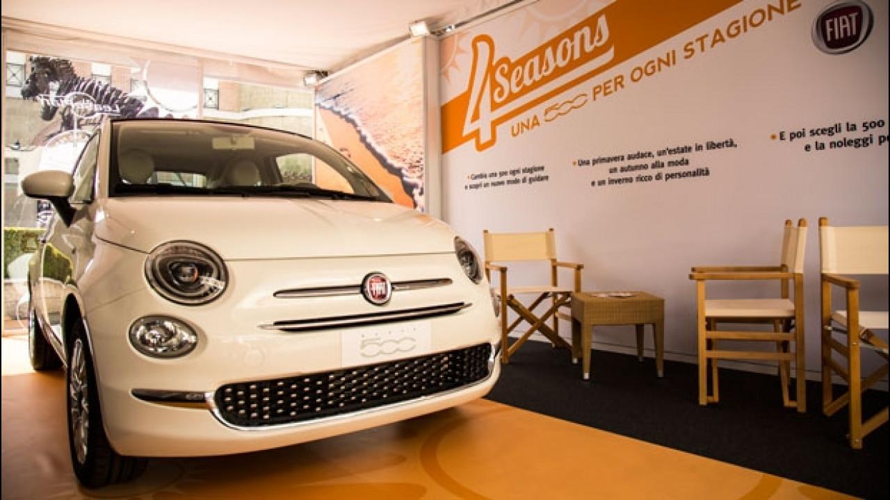 [Copertina] - Fiat 500, cambi l'auto ogni stagione con 4 Seasons