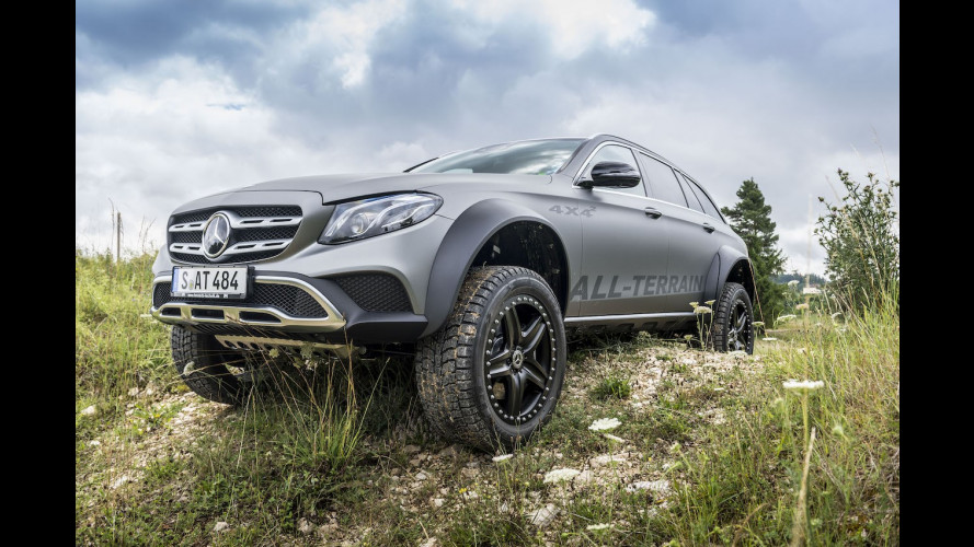 Mercedes E All-Terrain 4x4², dove osa la Classe G