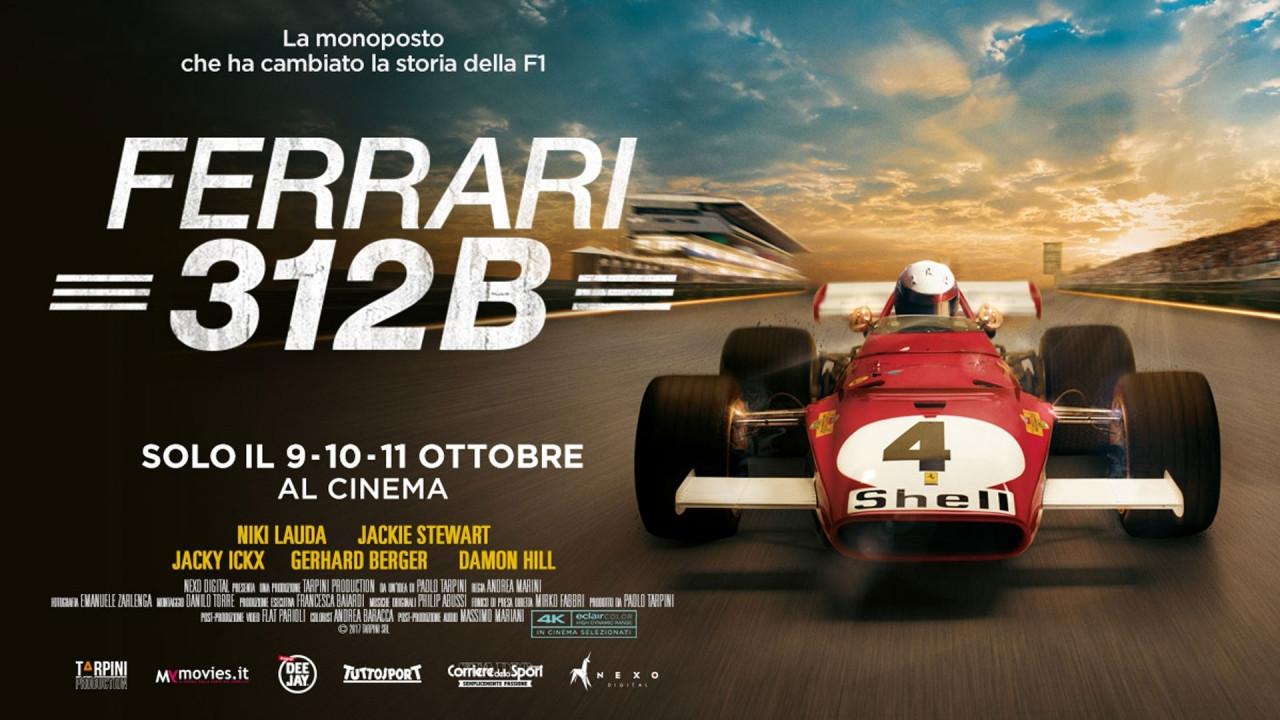 [Copertina] - Ferrari 312B, la storia della prima F1 con motore boxer è al cinema