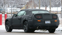 2010 Ford Mustang shows rear lights