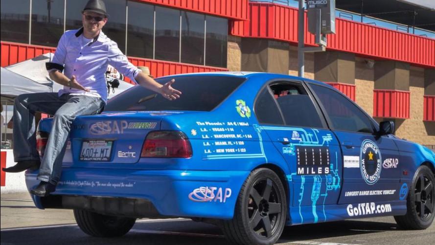 """Guinness World Record, 1.600 km """"elettrici"""" con una ricarica"""