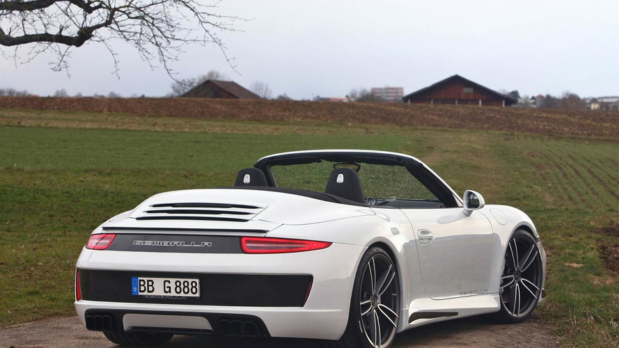Gemballa tunes the Porsche 911 Carrera S Convertible
