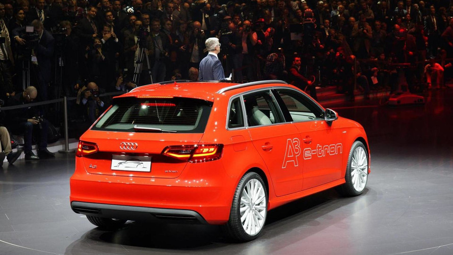 Audi A3 e-tron electrifies Geneva crowd