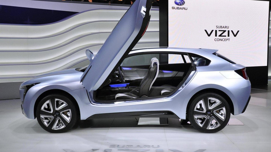 Subaru Viziv Concept Officially Revealed Updated
