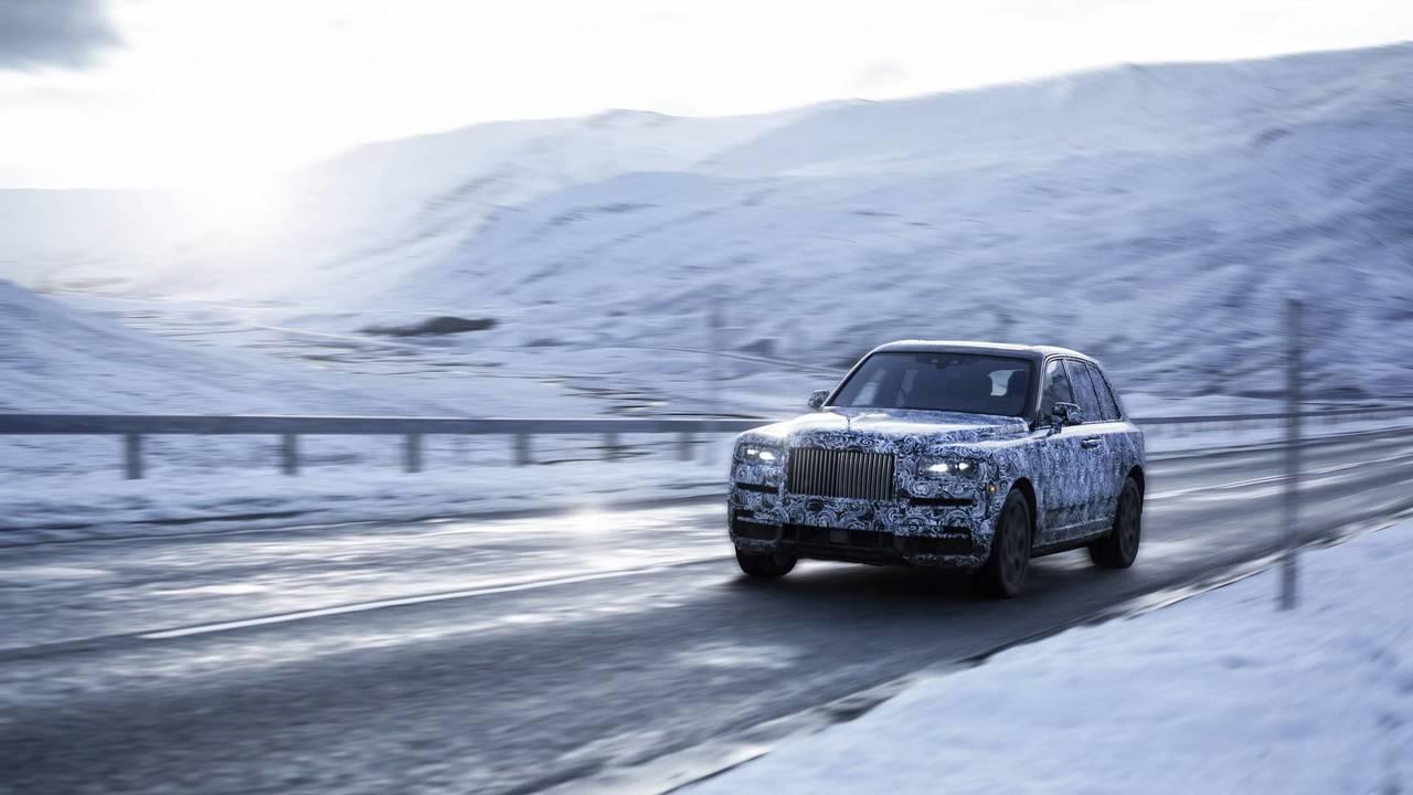 2019 Rolls-Royce Cullinan teaser