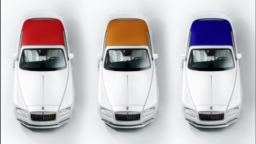 Rolls-Royce Dawn, debutta la collezione autunno/inverno