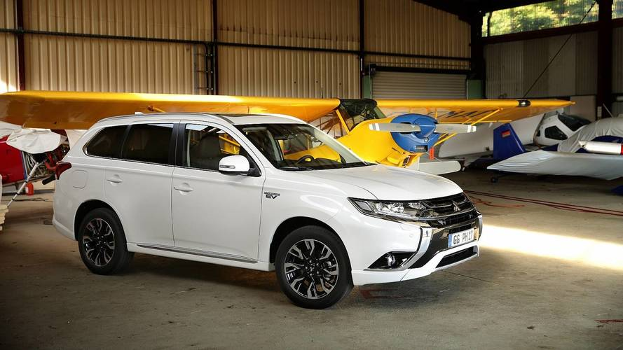 Mitsubishi a vendu 100'000 Outlander PHEV en Europe