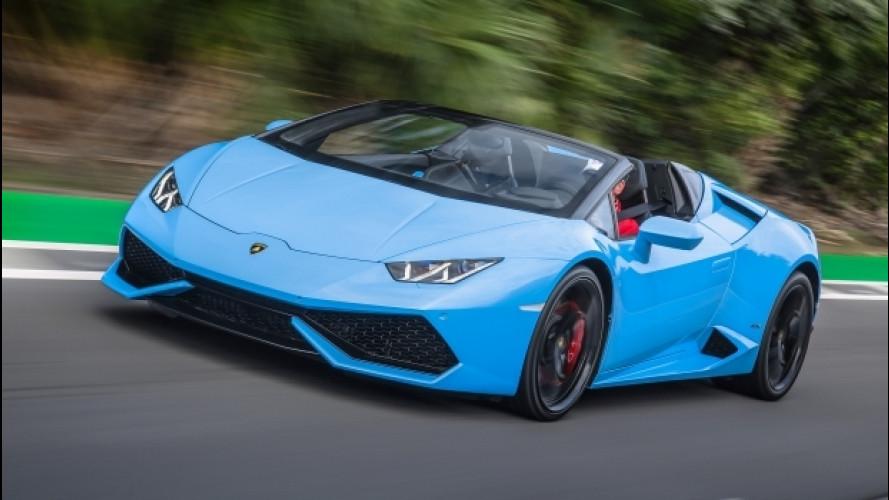 Lamborghini, record di vendite nel 2016