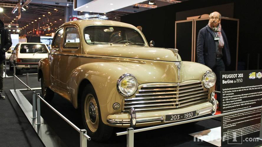 Peugeot au Salon Rétromobile 2018