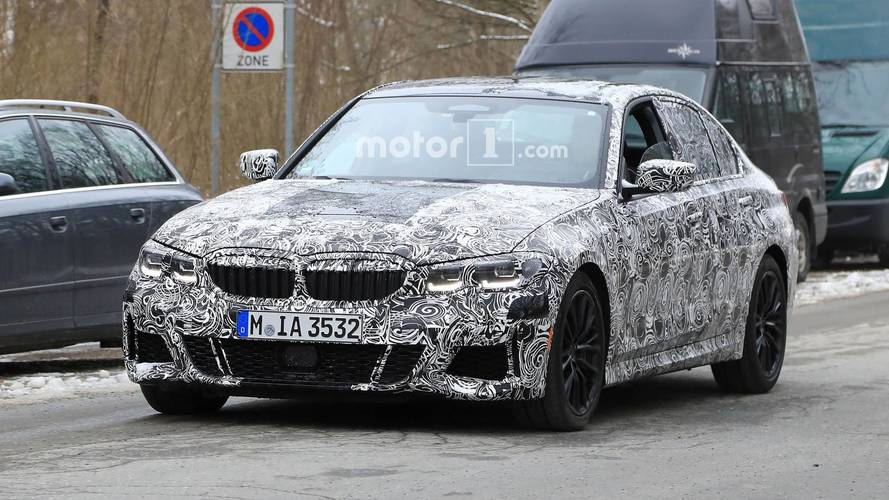 Image result for 2019 bmw 3 series spied