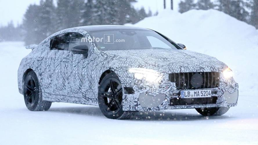 Mercedes-AMG GT Berline photos espion