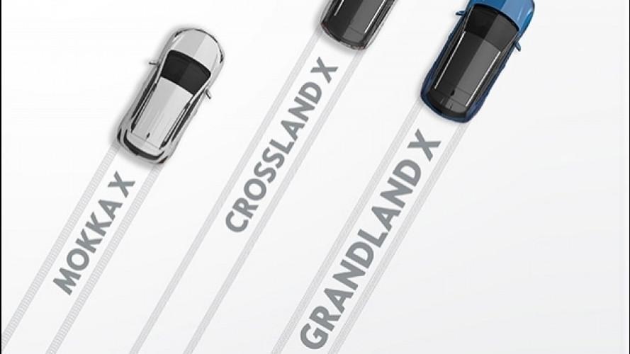 Opel Grandland X, l'offensiva SUV tedesca si rafforza