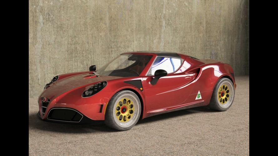 """Alfa Romeo 4C by Romeo Ferraris, """"tuning all'italiana"""""""