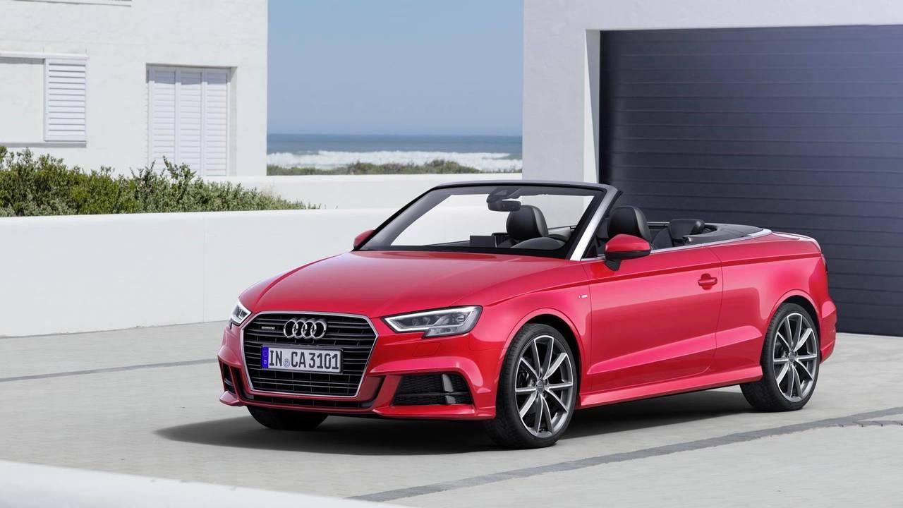 Audi A3 Cabriolet - £30k