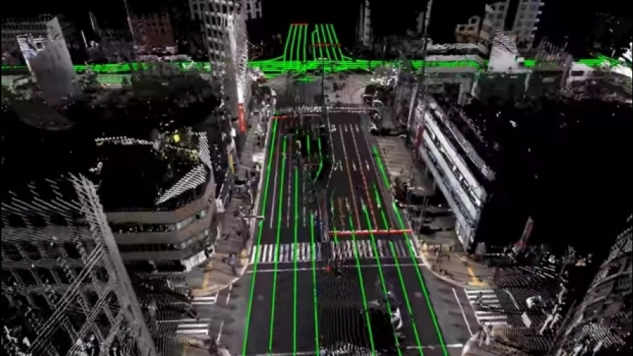 [Copertina] - Guida autonoma, il Giappone studia mappe 3D