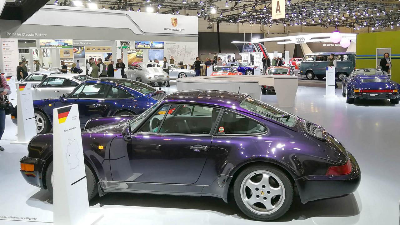 Techno Classica 2018: Porsche trumpft auf
