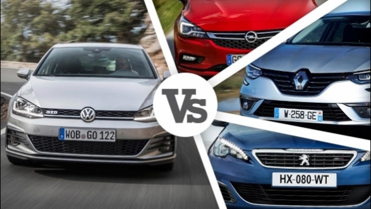 [Copertina] - Volkswagen Golf restyling, i prezzi e le concorrenti