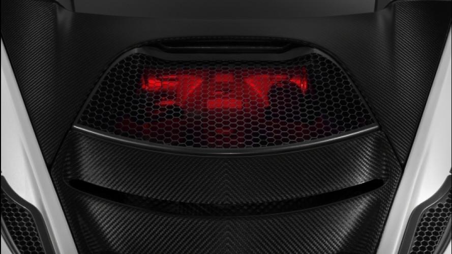 Seconda generazione McLaren Super Series, motore con vista