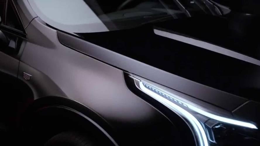 Cadillac XT4 Teaser Photo