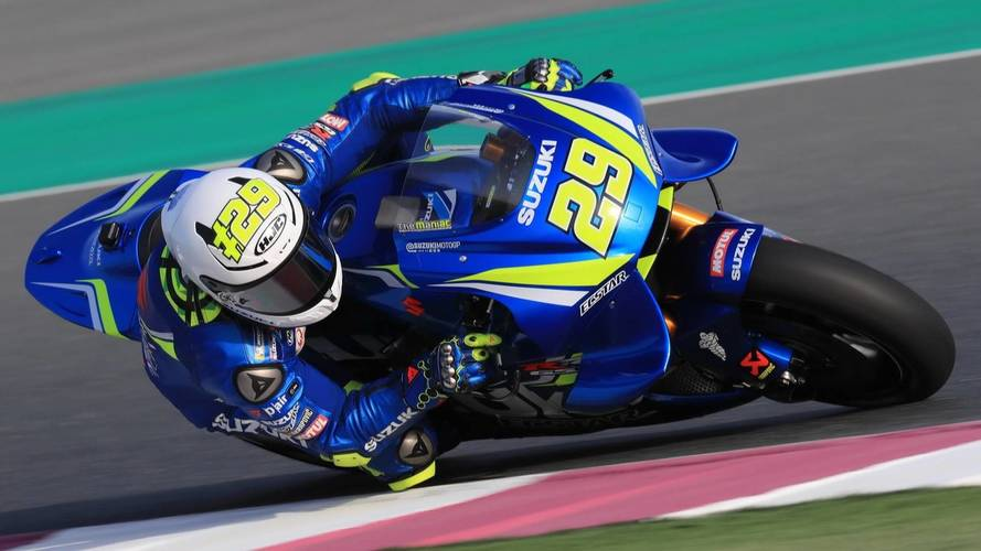 Iannone sorprende a los favoritos y lidera la segunda jornada en Qatar