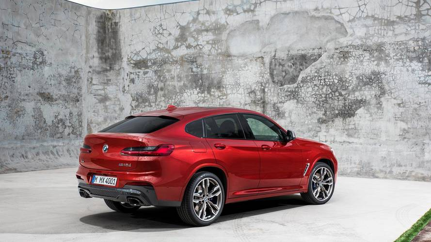 New BMW X4 cuts a sporty SUV shape at Geneva motor show