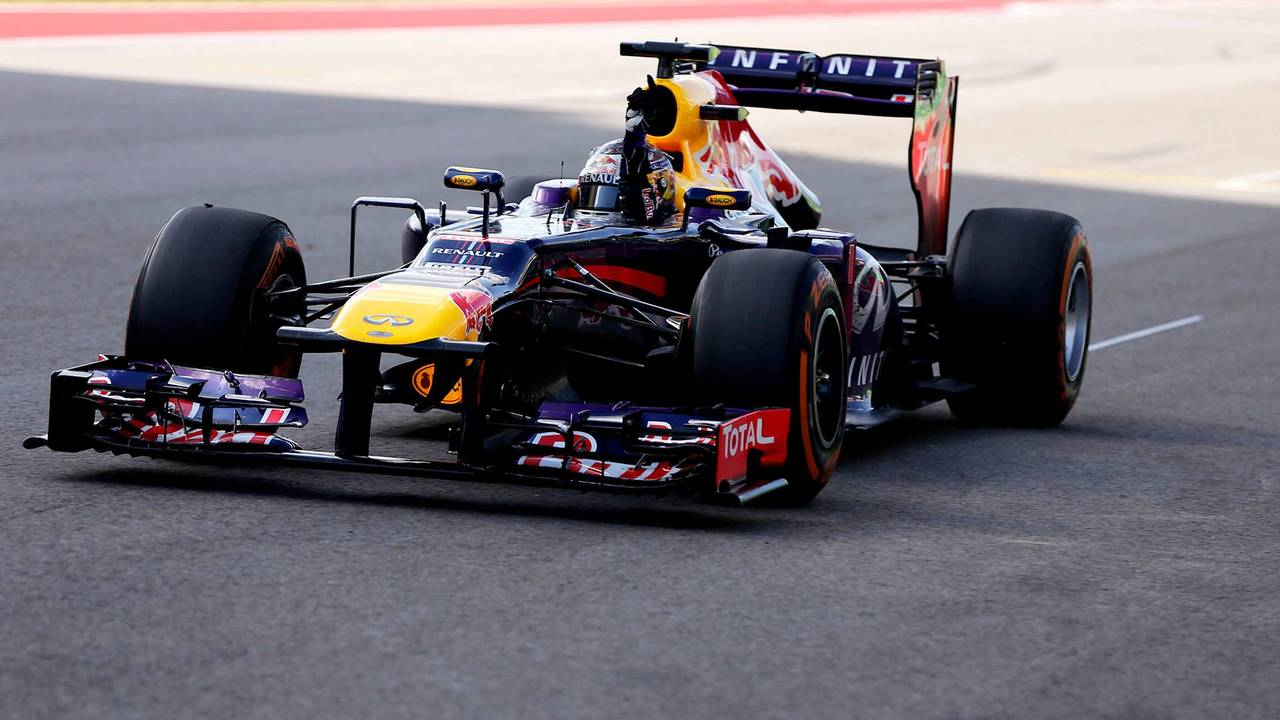 32. El Red Bull Racing RB9 de F1