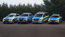İşte Mercedes-Benz'in polis aracı serisi