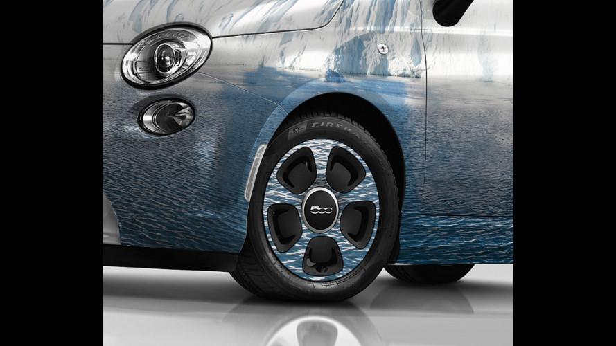 Fiat 500, le due elettriche di Lapo all'asta di Leonardo Di Caprio