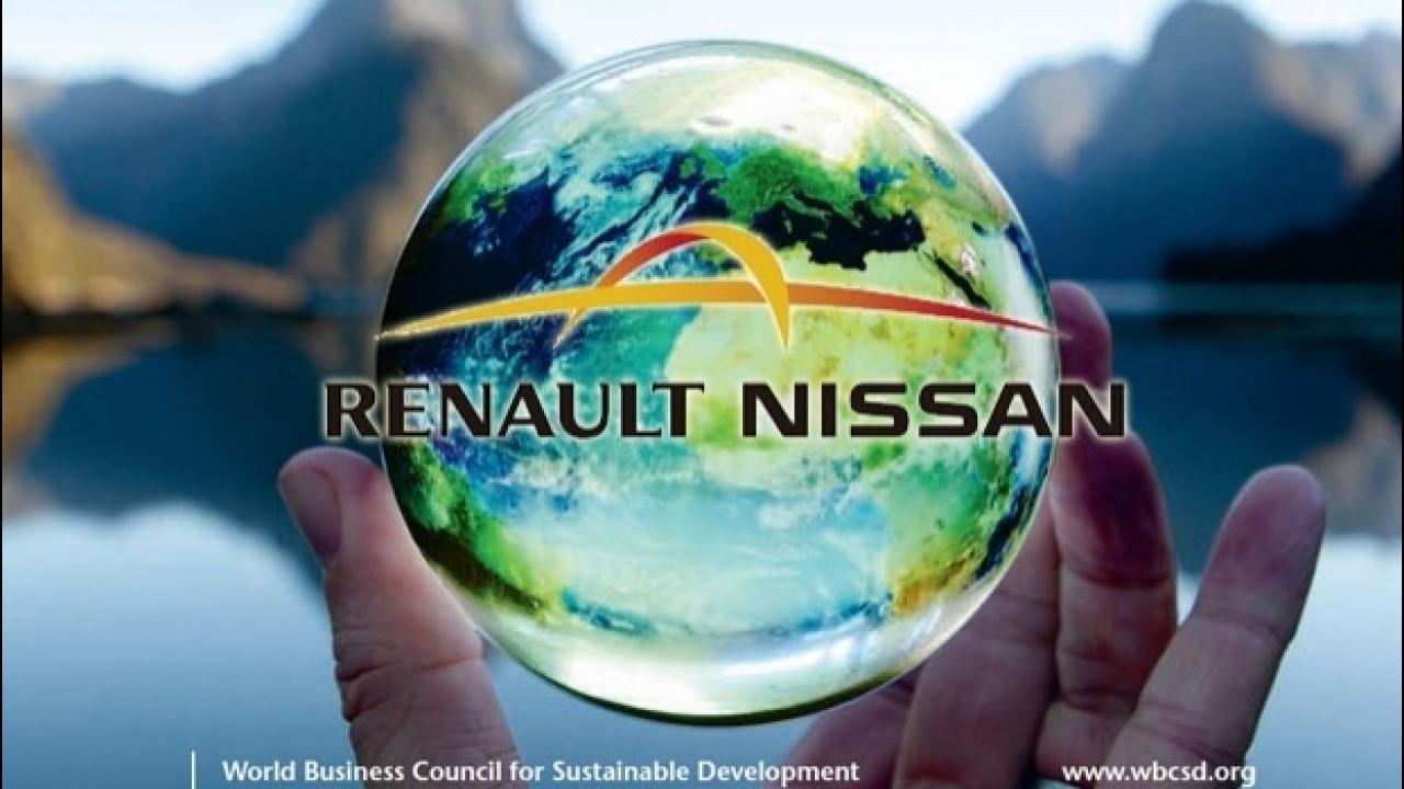 [Copertina] - Renault e Nissan rafforzano l'impegno per lo sviluppo sostenibile