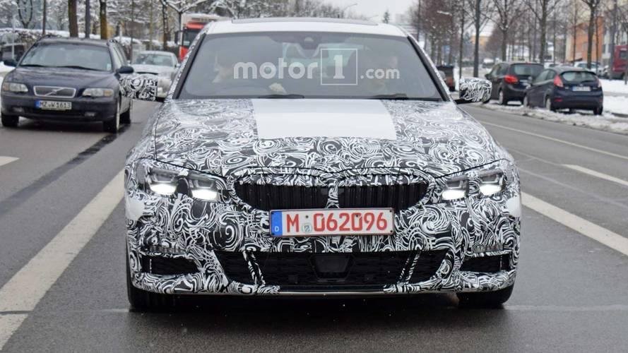 2018 BMW 3 Serisi casus fotoğraflar