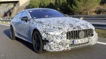 Mercedes AMG GT Coupé 4 doors, nuove foto spia