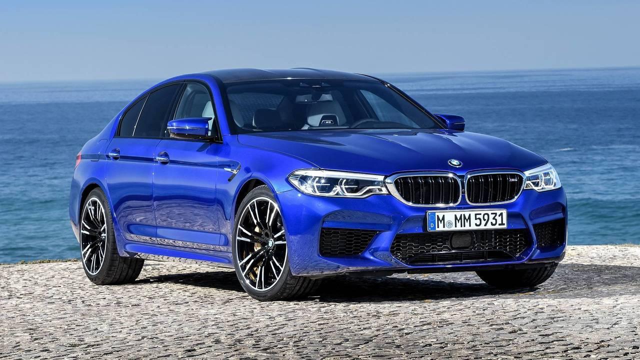 2018 World Performance Car: BMW M5