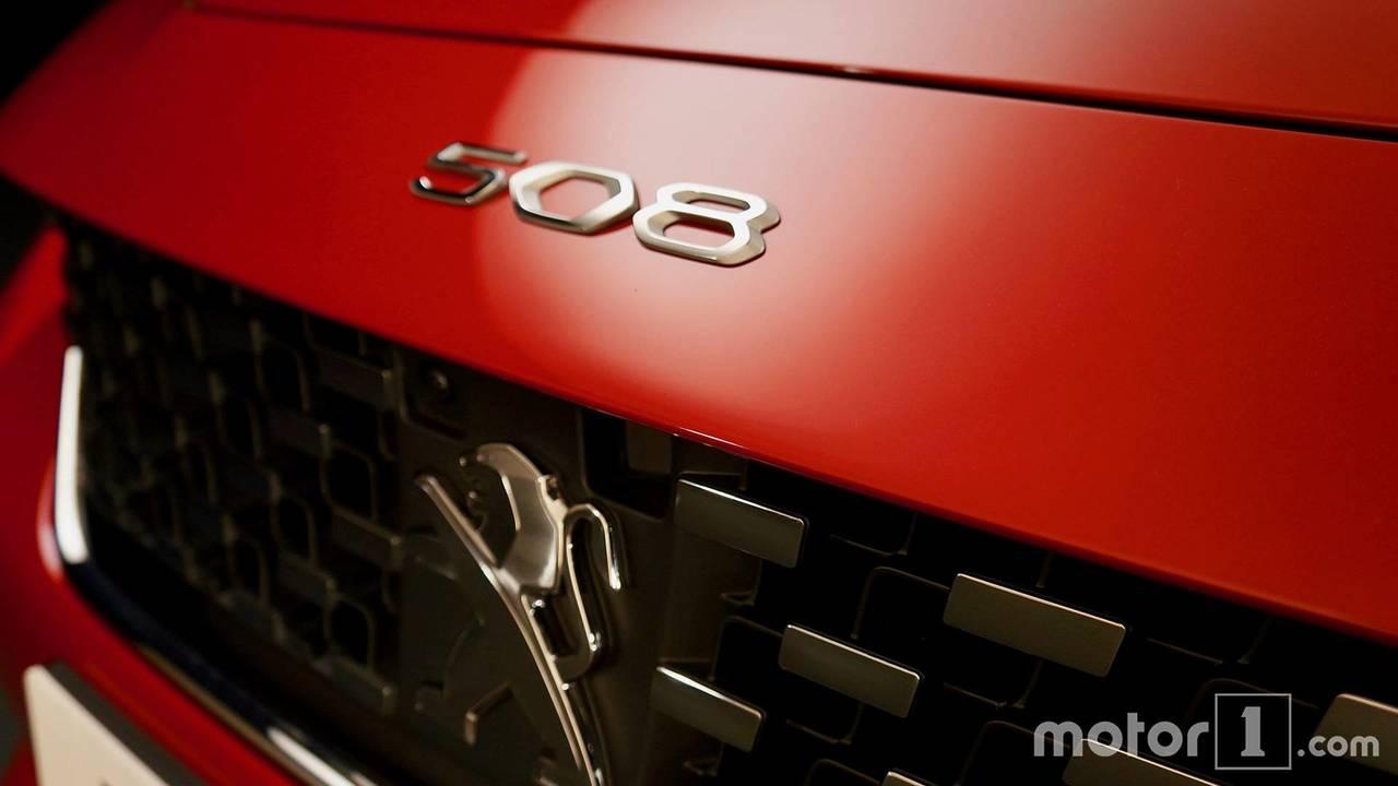 Peugeot 508 stüdyo çekimleri