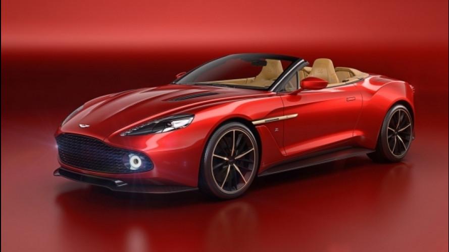 Aston Martin, la meravigliosa Vanquish Zagato Volante