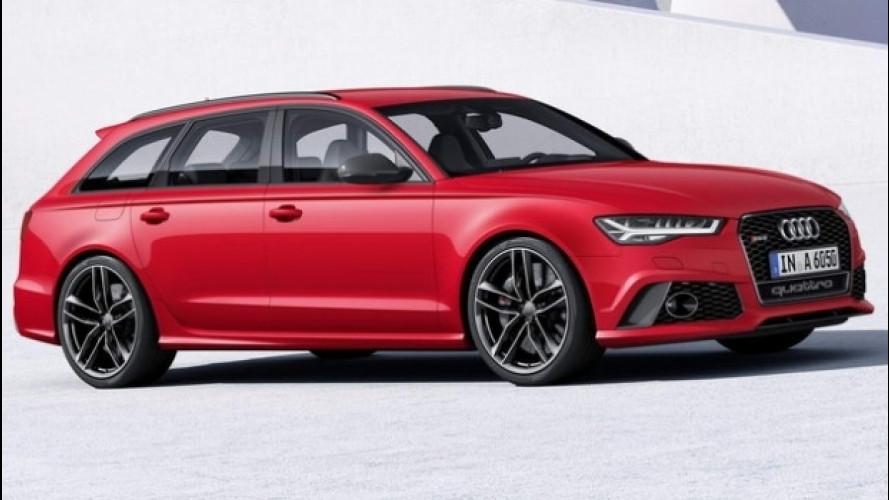 Audi RS6 allroad, arriverà nel 2017 (forse)
