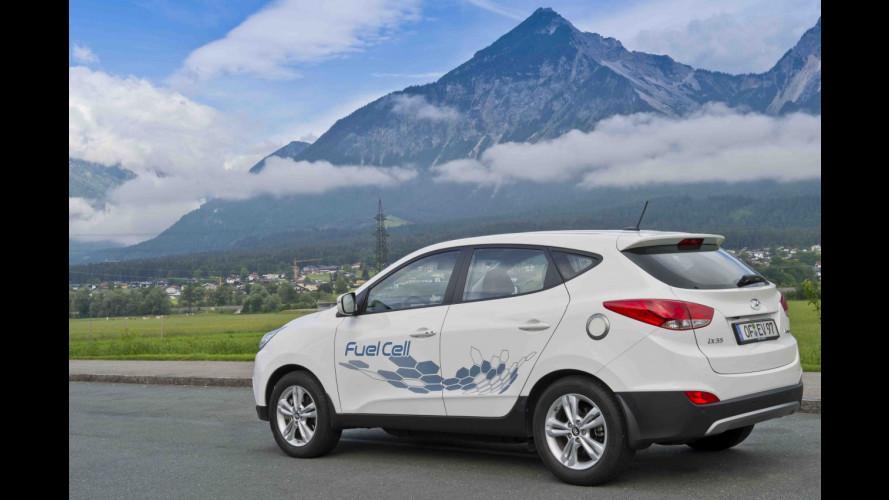 È Hyundai la prima stazione pubblica a idrogeno
