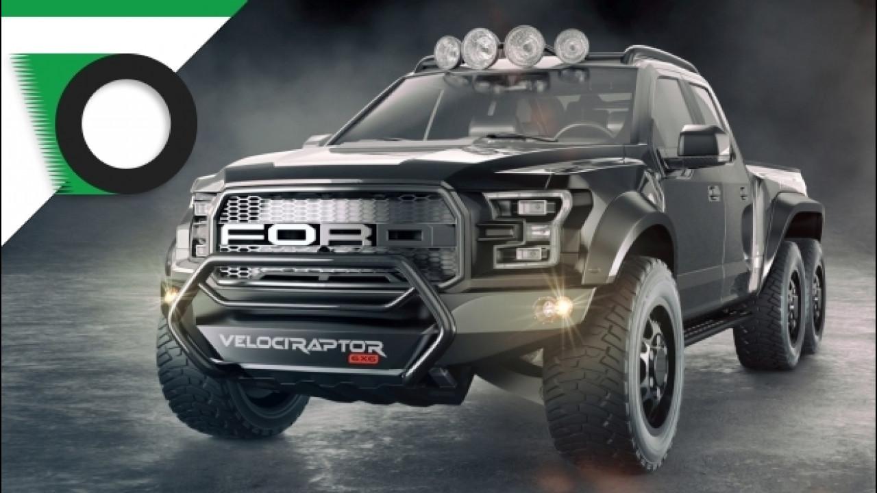 [Copertina] - Ford F150 Velociraptor 6x6, più estrema non si può