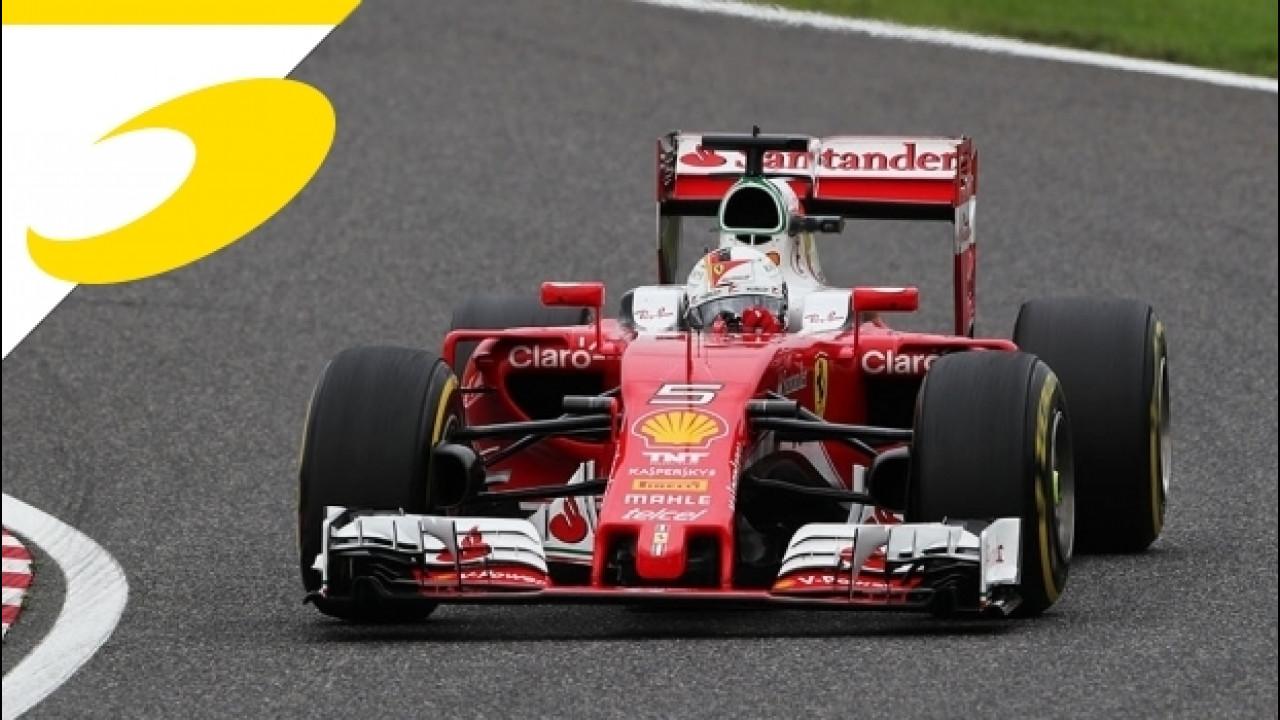 [Copertina] - F1 Giappone, per Ferrari niente podio