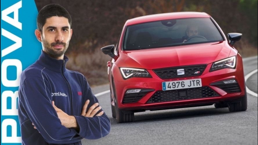 "Seat Leon Cupra, come spingono 300 CV che ""tirano"" [VIDEO]"