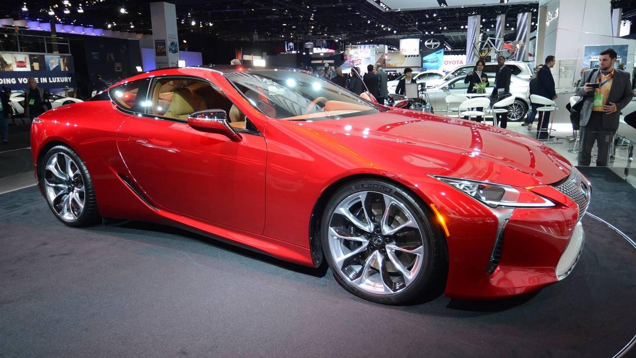 2016: Lexus LC 500