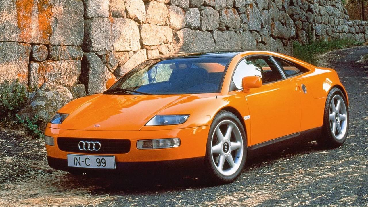 9. 1991 Audi Quattro Spyder concept