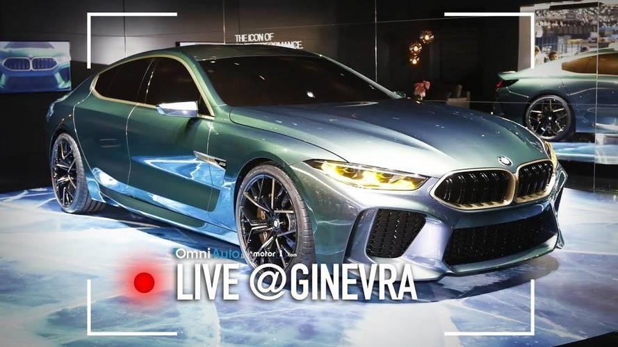 BMW Concept M8 Gran Coupé, a muso duro contro Audi A7 e Mercedes CLS