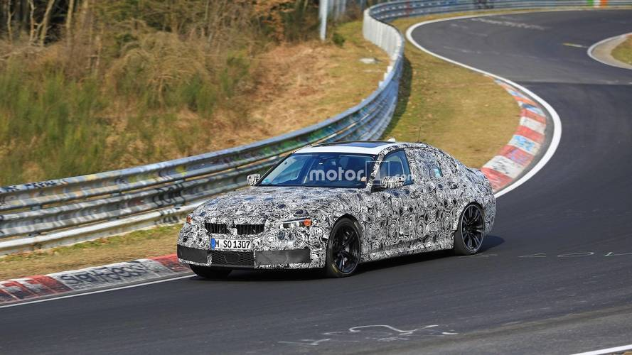 New BMW M3 Spied Straightening Corners At The Nurburgring