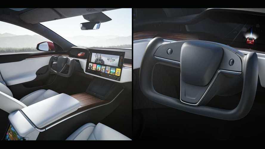 Il volante Yoke di Tesla Model S sarà di serie. Per tutte