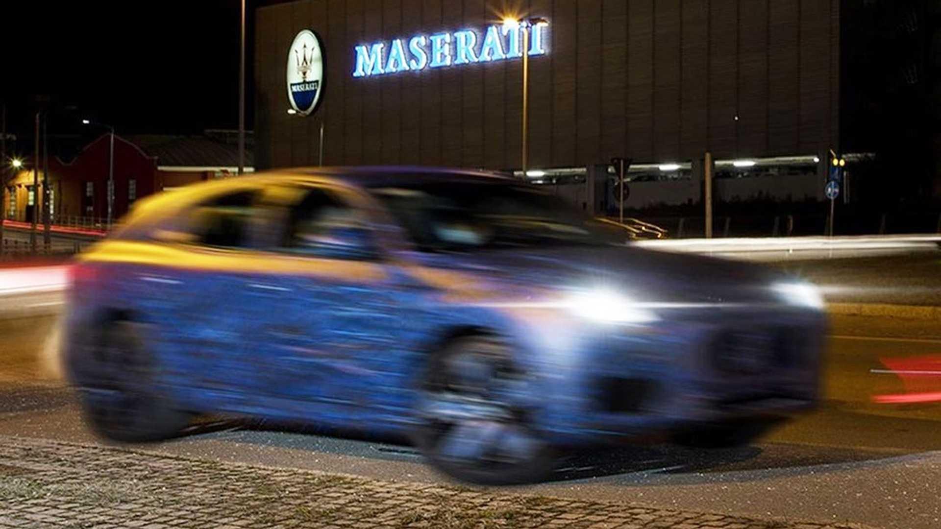 Тизерные изображения Maserati Grecale демонстрируют размытый спортивный кроссовер