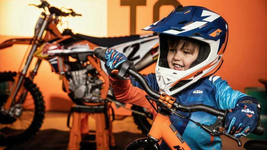 KTM lanza la Factory Replica eléctrica para niños