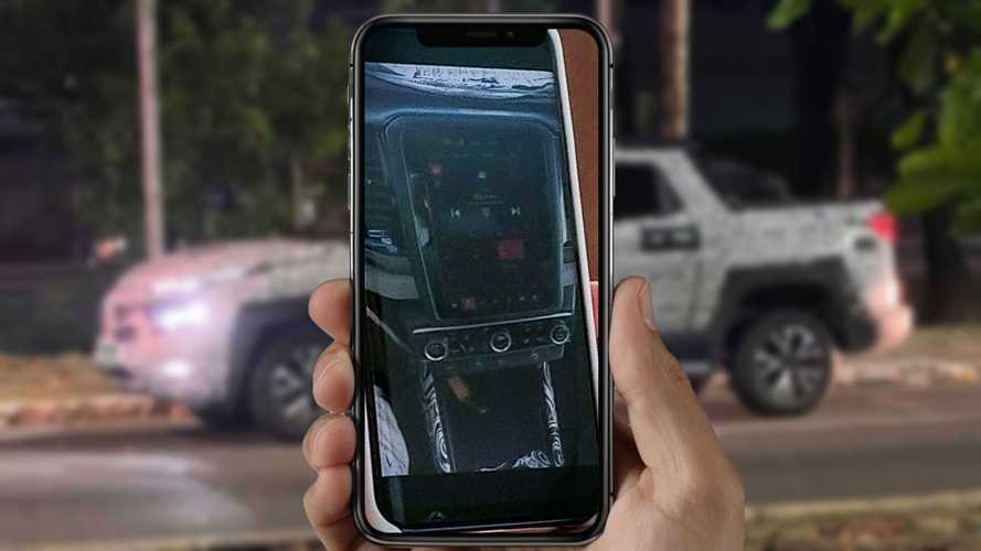 Flagra: Nova Fiat Toro 2022 mostra multimídia estilo RAM e painel digital